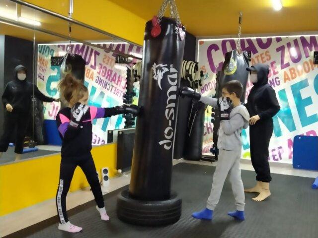 çocuklar için kickboks